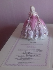 Fuschia -  Coalport Fairest Flowers with Authenticity Certificate