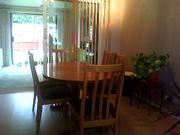 Dining Table with 6 match chairs